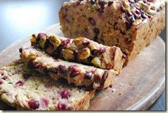 Pomegranate, Pistachio and Banana Bread (2)