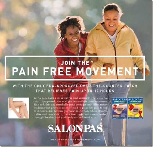 SalonPas-Join the Pain Free Movement
