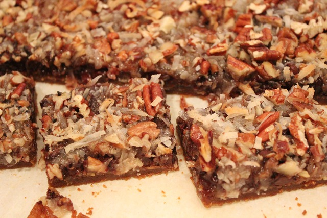 Magical Coconut Cookie Bars – Healthy Coconut