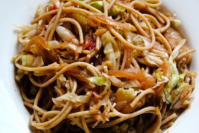 Cabbage pasta salad recipe