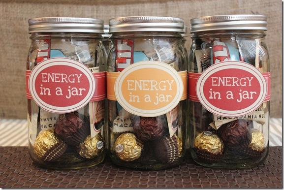 Energy in a jar diy gift idea