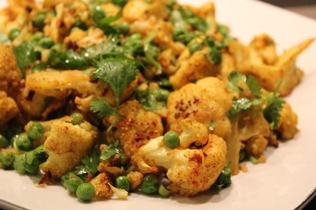 roasted curried cauliflower i love any veggies roasted roasted curry ...