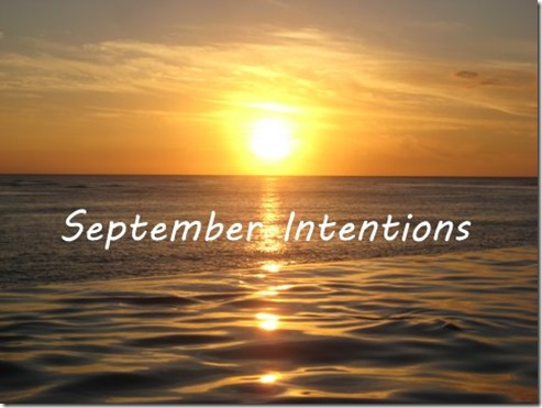 september intentions