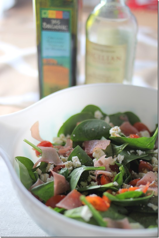 spinach salad 4