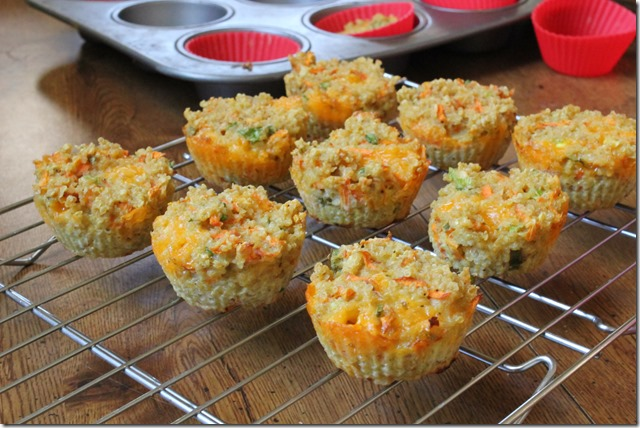 quinoa vegetable muffins1