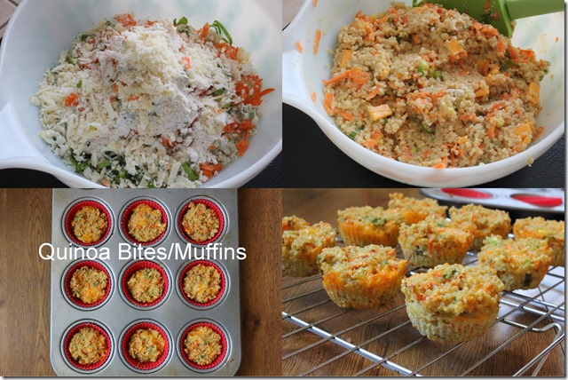 quinoa vegetable muffins