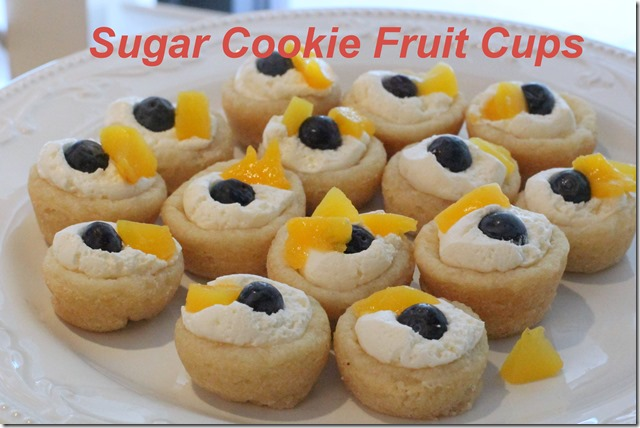 recipe} mini sugar cookie fruit cups – Healthy Coconut
