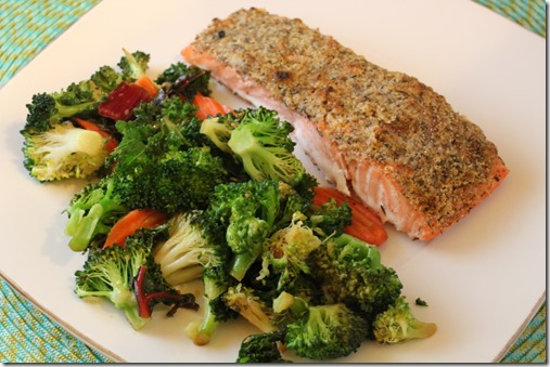 almond crusted salmon (16)