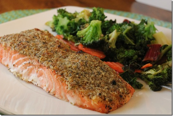 almond crusted salmon (19)