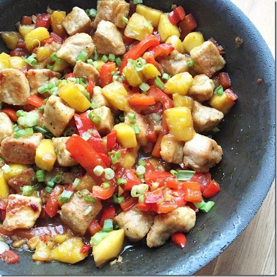 sweet and sour pork stir-fry (1)
