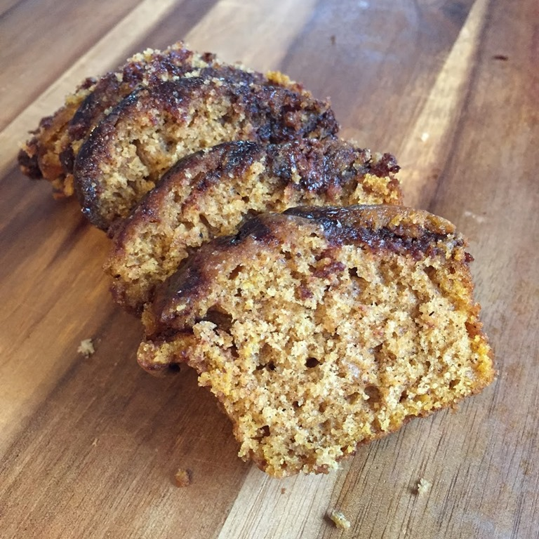 recipe} pumpkin nutella bread – Healthy Coconut