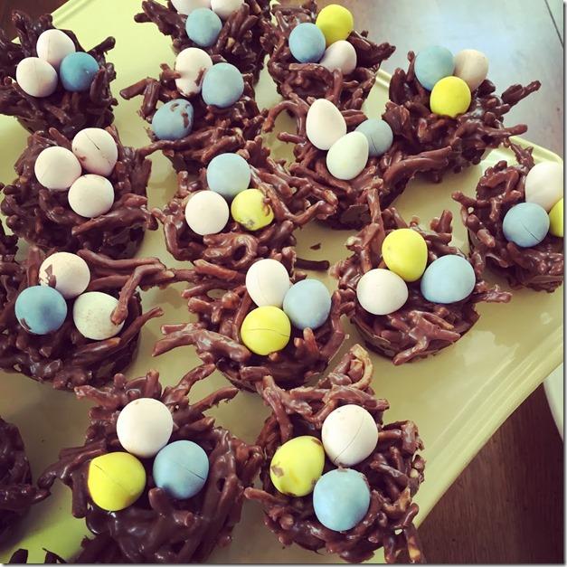 chocolate egg's nest (1)