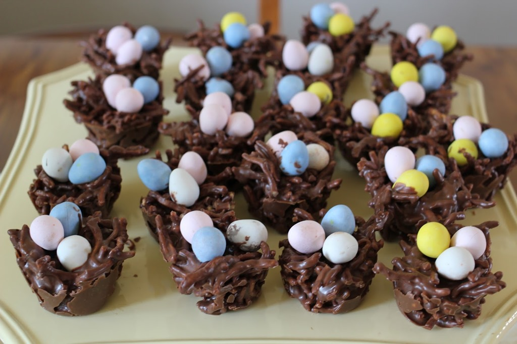 Recipe Chocolate Bird S Nest Easter Treat Healthy