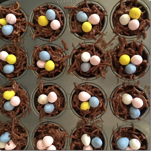 chocolate egg's nest (4)