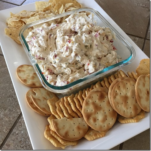 cream cheese and veggie dip (2)