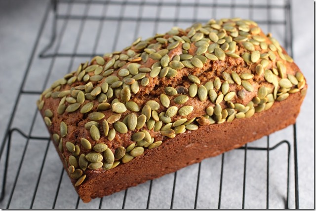 Starbuck's pumpkin bread (6)